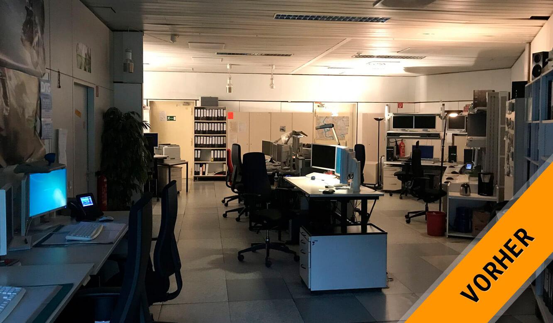 JST Rechenzentrum Finanzverwaltung NRW: Leitstand vor der Modernisierung