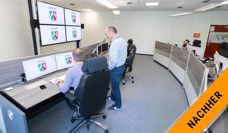 JST Rechenzentrum Finanzverwaltung NRW: Leitstand nach der Modernisierung