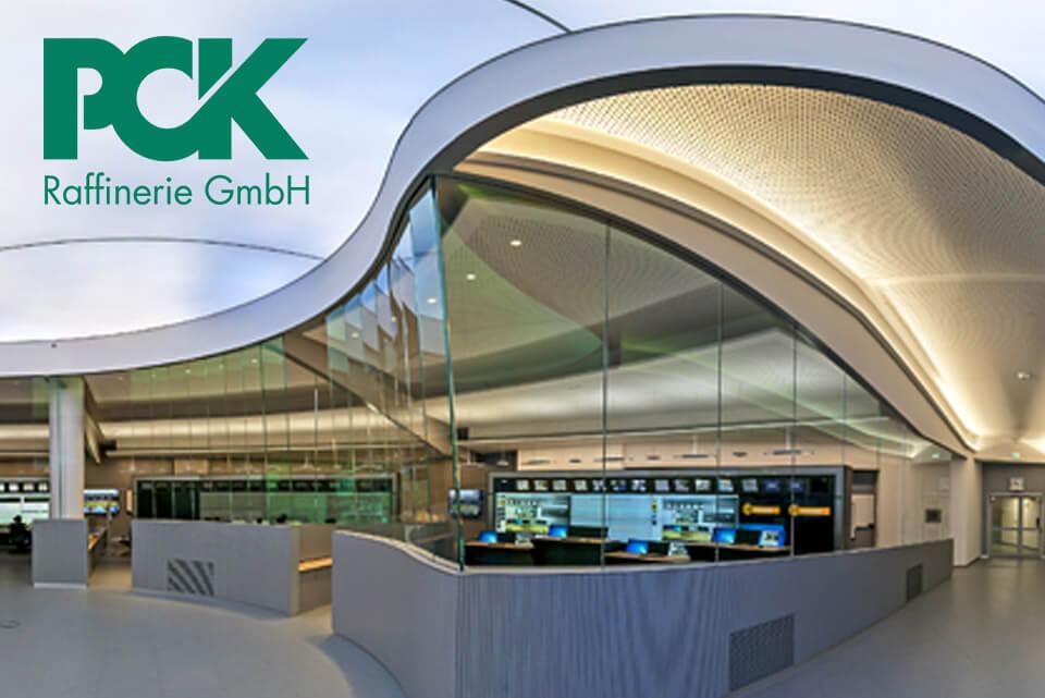 JST-News: PCK Schwedt. Modernste Raffinerie-Leitwarte nimmt erfolgreich Betrieb auf