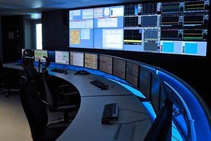 JST Helmholtz centre Berlin: Control centre