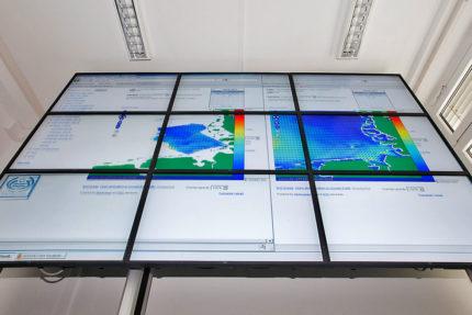 JST-Helmholtz-Zentrum Geesthacht: Großbildwand für die neue Messwarte