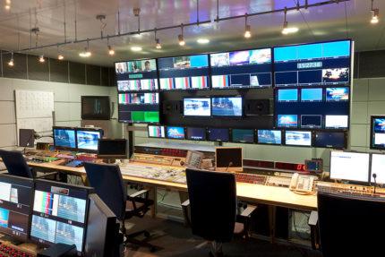 JST - Media & Communication Systems GmbH Sachsen: der Bildregieraum