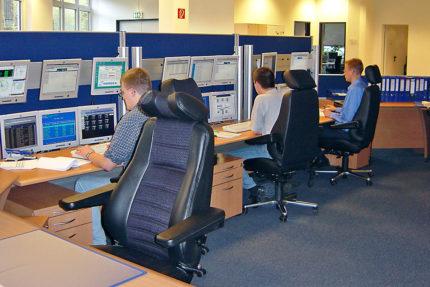 JST - Nordex Norderstedt: Leitstandsystem von JST