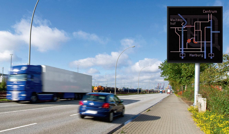JST - Hamburg Port Authority: Verkehrsinformationssystem im Hamburger Hafen