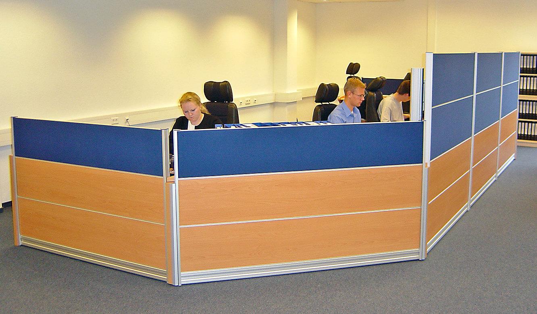 JST - Nordex Norderstedt: Leitstandsystem von JST. Operator-Plätze