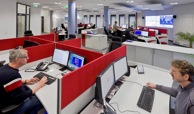 JST-Senvion: Ergonomische Möbel in der neuen Leitzentrale