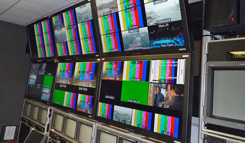 JST - ZDF Mainz: Großbildwand