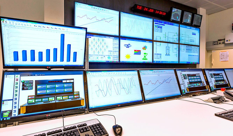 JST - European Space Agency (ESA): Kontrollraum. myGUI-Bedienoberfläche für MultiConsoling