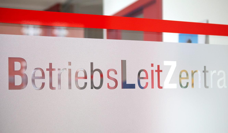 JST - Verkehrsgesellschaft Görlitz: Betriebsleitzentrale. Eingangsbereich