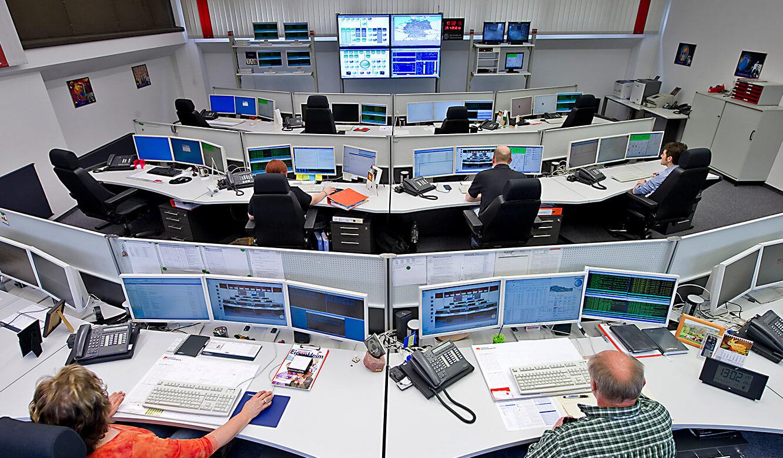 JST - W&W Informatik Ludwigsburg: Sicht auf Leitstand