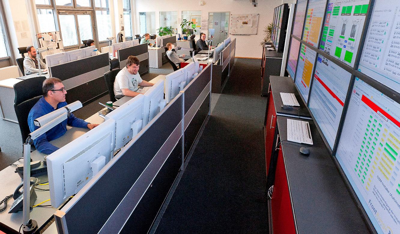 JST DB Systel Kontrollraum