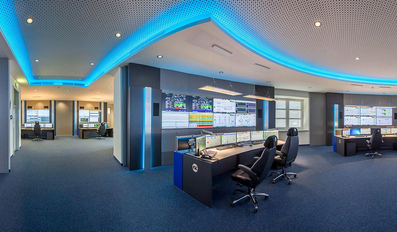 JST-InfraLeuna: Blick in die neue Leitwarte
