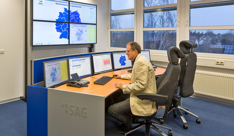 JST-SAG-Berlin: Blick in die neue Leitstelle
