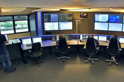 JST Referenzen - WPD Windmanager Bremen: Leitstand