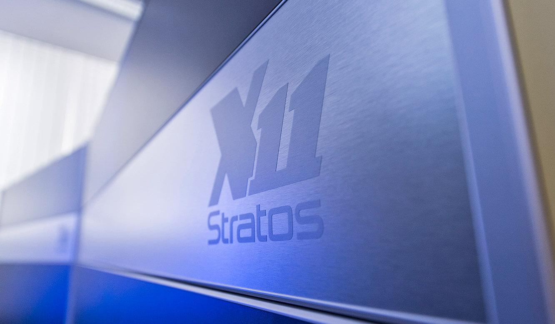 JST GRZ Linz Stratos X 11 Gogo in gebürsteter Edelstahl Optik