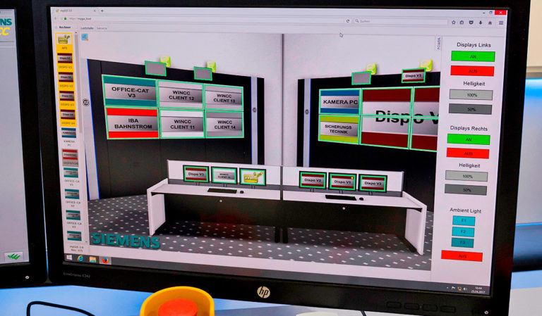 JST-Siemens Wegberg: User interface for MultiConsoling