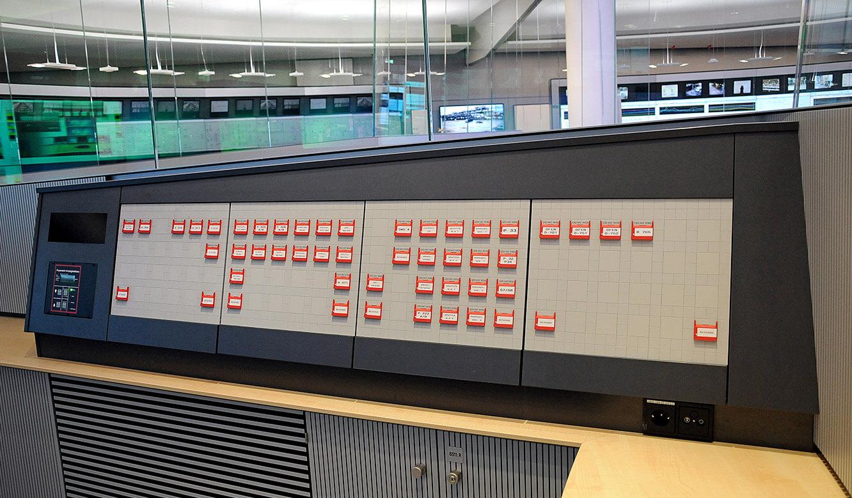 JST - PCK Schwedt: Notaus-Tableau ermöglicht blitzschnellen Zugriff im Störungsfall