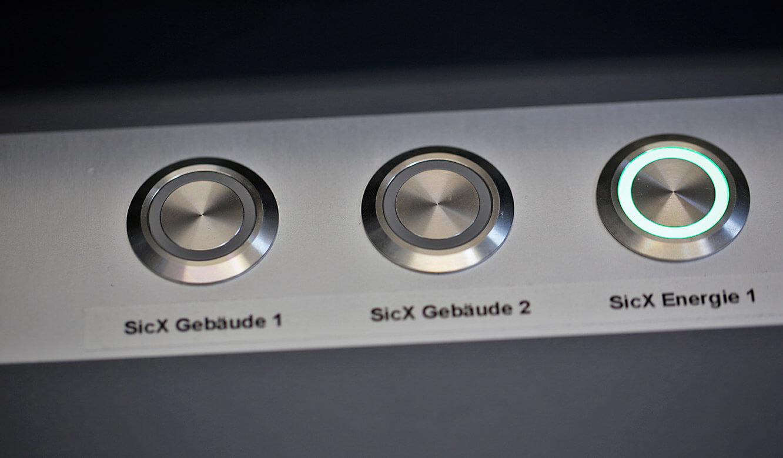 JST-Roche: über das CommandPad können Störungen direkt quittiert werden