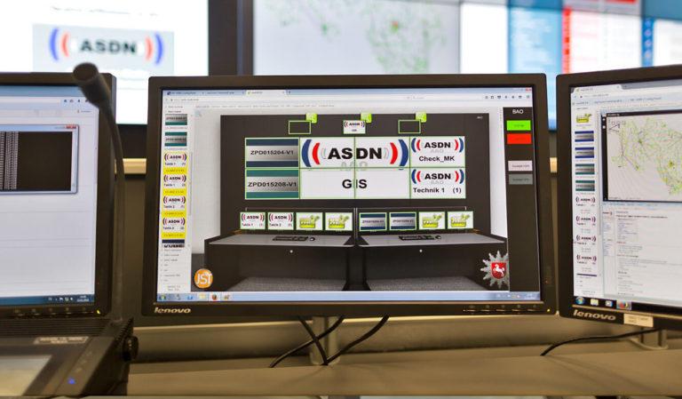 JST - Autorisierte Stelle Digitalfunk Niedersachsen: myGUI-Bedienoberfläche für das MultiConsoling