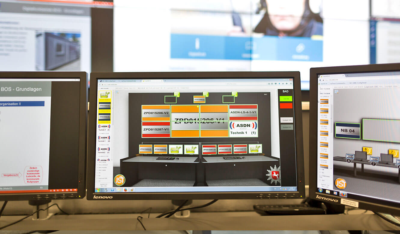JST - Autorisierte Stelle Digitalfunk Niedersachsen: myGUI-User interface for the MultiConsoling