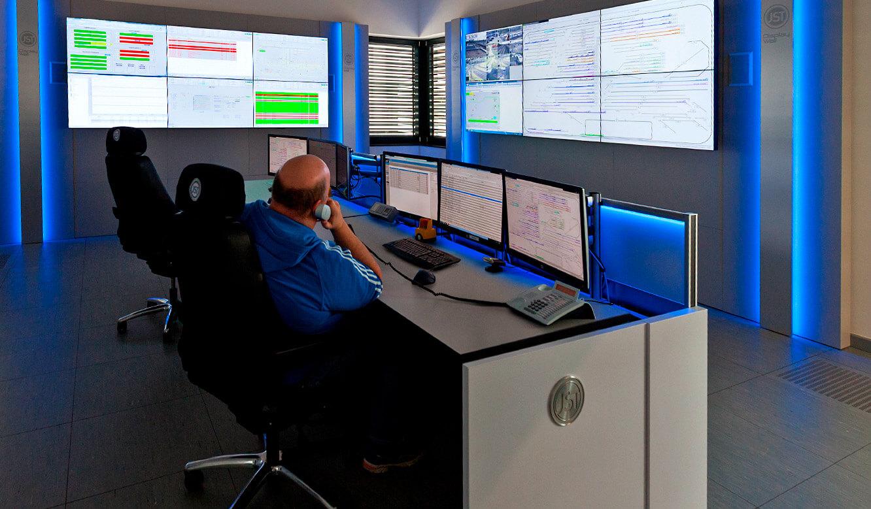 JST-Siemens Wegberg: farbiges Alarmlight macht auf Störungen aufmerksam