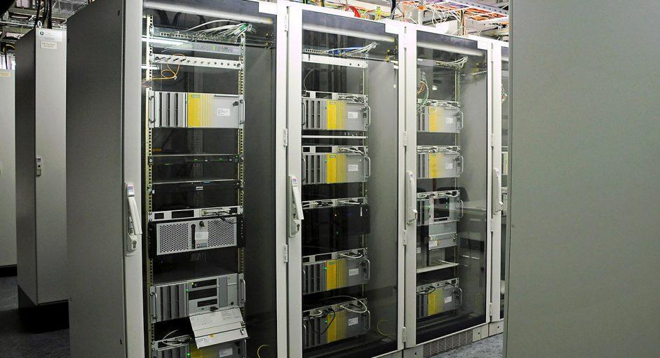 JST-DREWAG: dank Multiconsoling können die Rechner in einen Technikraum ausgelagert werden