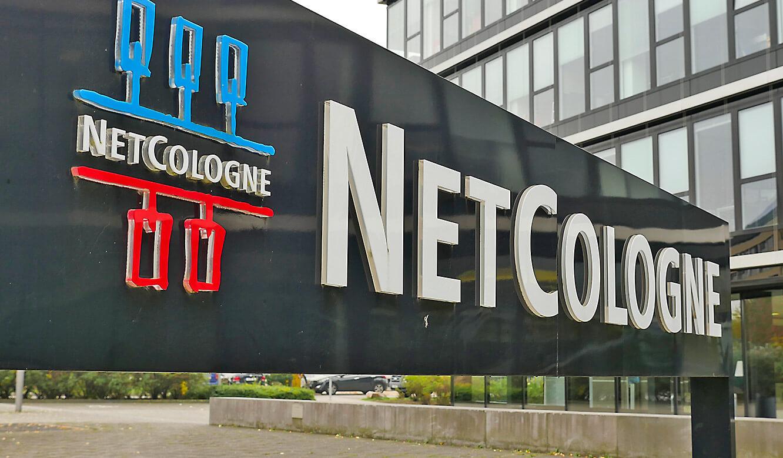 JST-Netcologne: Eingansbereich zum Netcolgone Headquarter in Köln