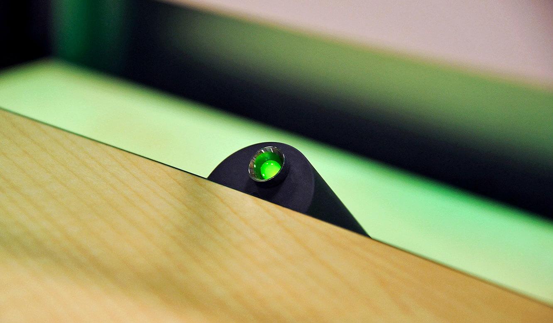 JST-DREWAG: Leuchtdiode zur Keyboard-Mouse-Ortung