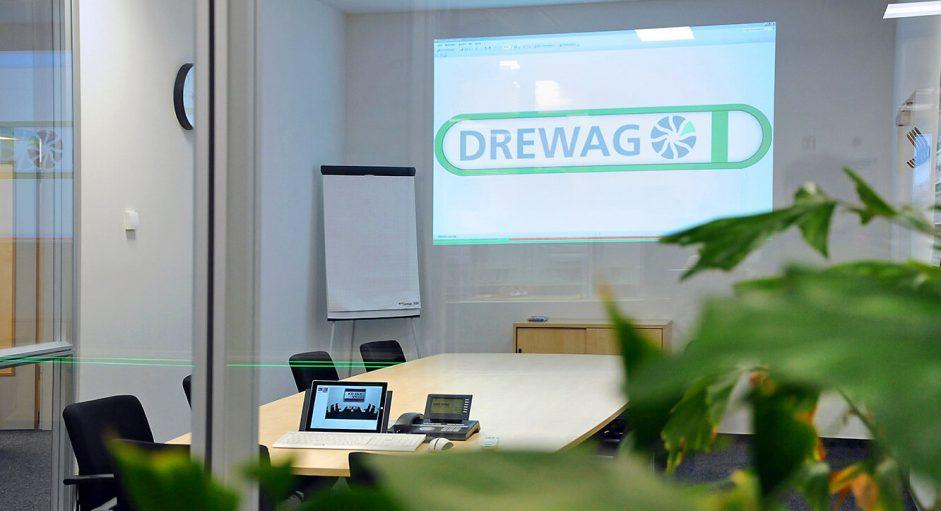 JST-DREWAG: Blick in den Meetingraum