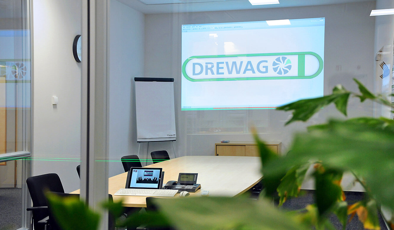 JST-DREWAG: View into the meeting room
