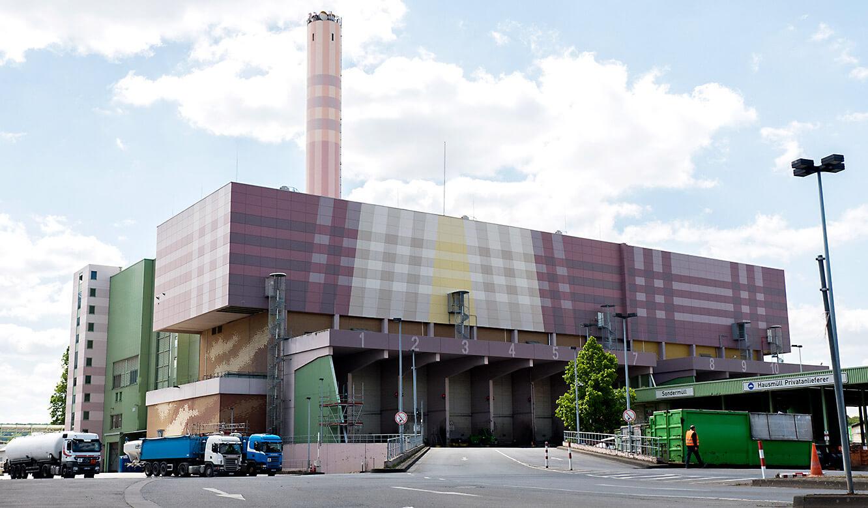 JST-MVA-Bonn: Blick auf die Müllverwertungsanlage Bonn