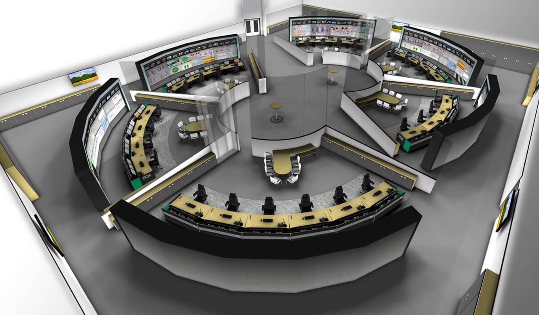 JST - PCK Schwedt: 3D-Simulation der Messwarte