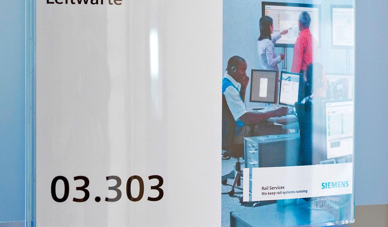JST-Siemens Wegberg: Eingang in die neue Leitwarte