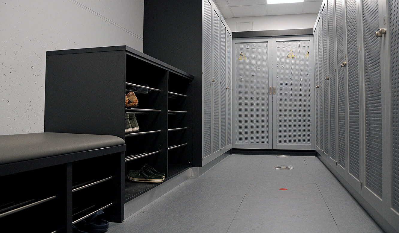 JST - PCK Schwedt: Sozialraum für Anlagenfahrer der Messwarte