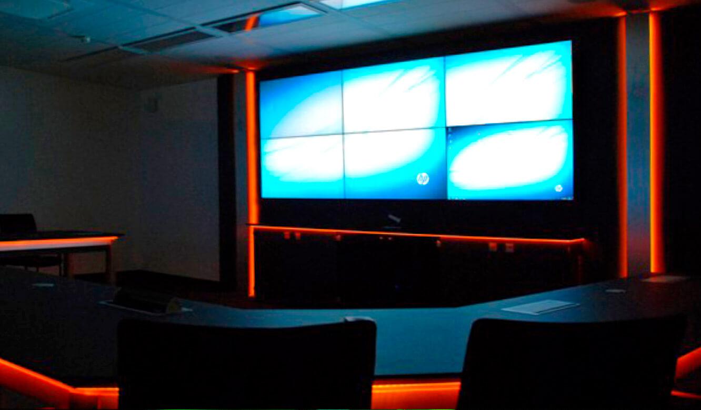 JST Referenzen - Siemens: Videowall