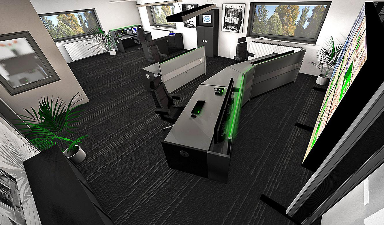 JST-Roche: 3D-Zeichnung zeigt geplante Leitwarte