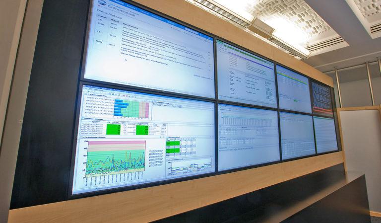 JST - LVM - Videowall mit Pixel-Detection für kürzere Reaktionszeiten