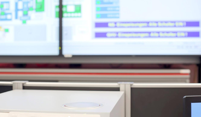 JST - Medizinische Hochschule Hannover: plan in die Oberfläche eingelassen. Power-Port-Data-Auszug