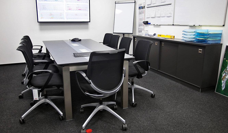 JST-Roche: Lagebesprechungsraum ist technisch an die Leitwarte angeschlossen