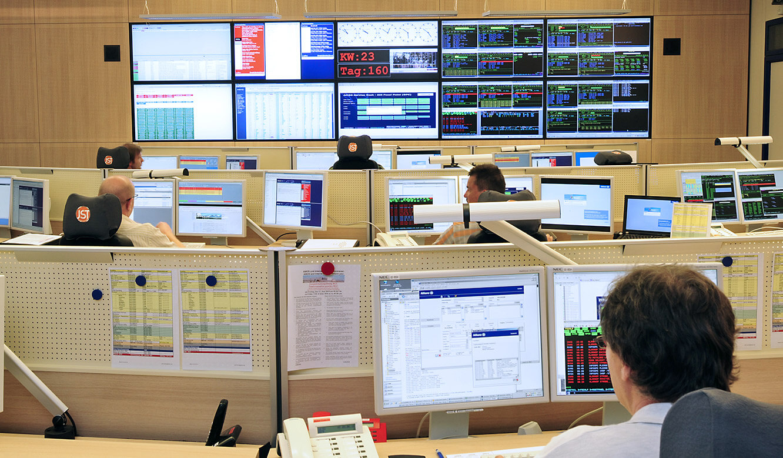 JST - ASIC - Ergonomische Arbeitsplätze im Operation Center