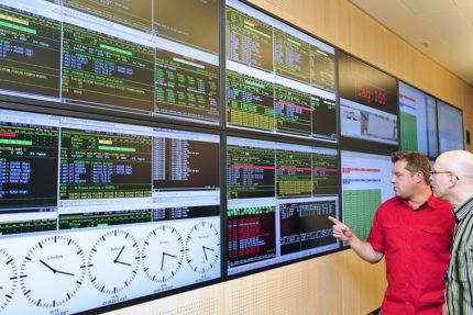 JST - ASIC - Besonderes Highlight sind proaktive Videowände im Control Center