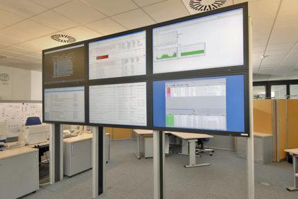 JST - Bertelsmann Arvato - Grossbildsystem
