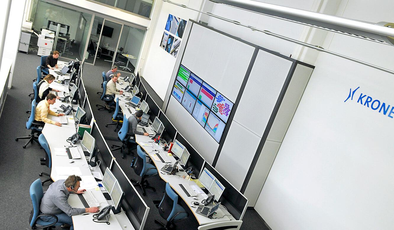 Krones - Der ITIL-Konforme Kontrollraum von JST