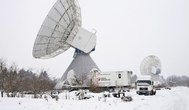 JST - Media Broadcast - Antennen im Winter