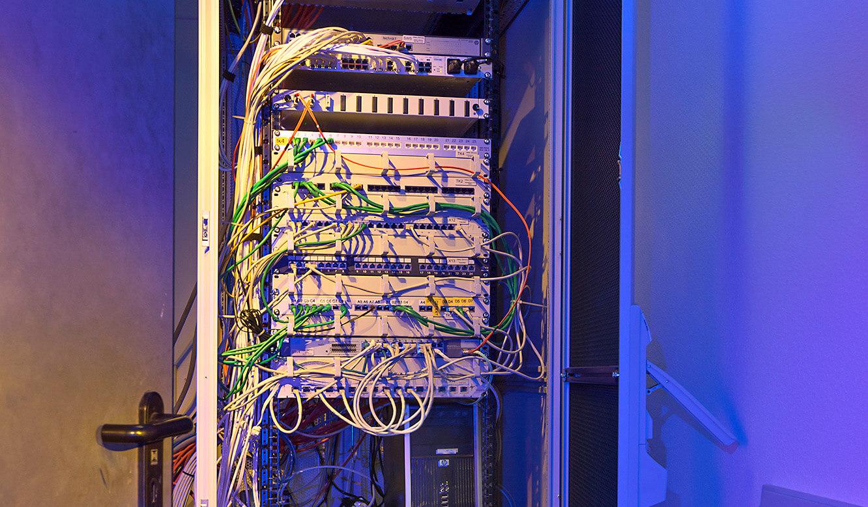 JST Referenzen - North Tec - Leitwarte. Ausgelagerte Rechner.