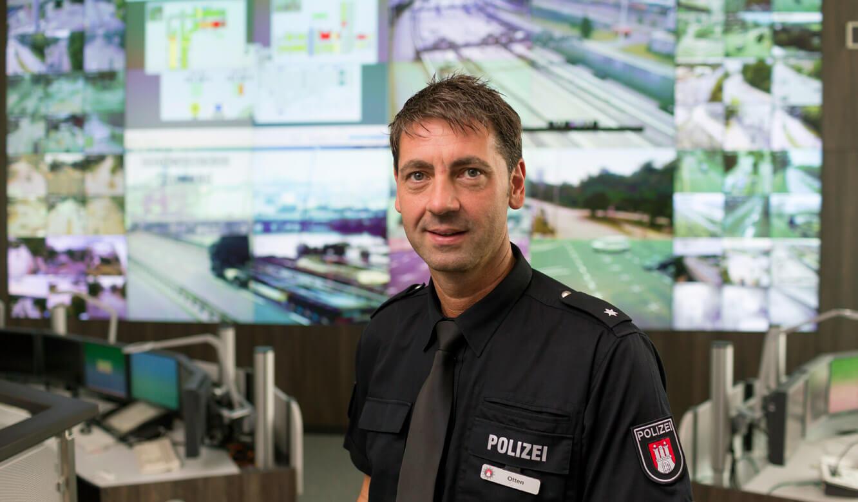 JST - Polizei Hamburg - Polizeikommissar Jürgen Otten