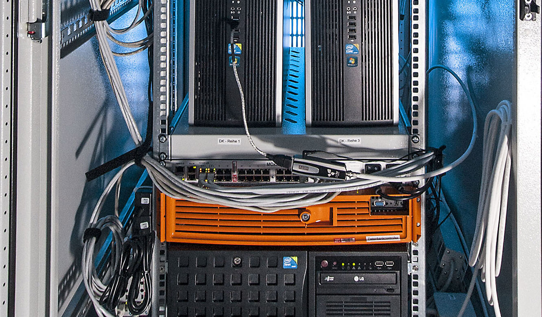 JST Referenz - Bundesrechenzentrum Wien - Serverraum