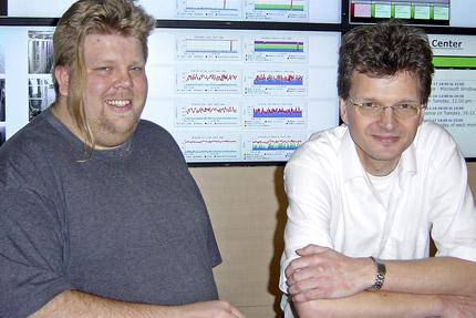 JST Referenzen DESY Hamburg - Sven Siewert und Ulf Töter