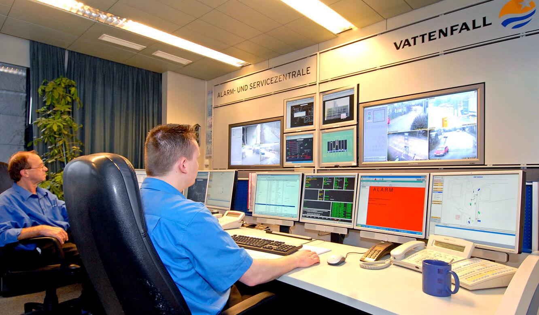 JST Referenzen - Vattenfall Hamburg - Alarm- und Servicezentrale