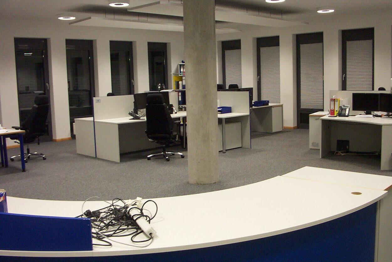 JST Senvion SE: Kontrollraum vor der Modernisierung